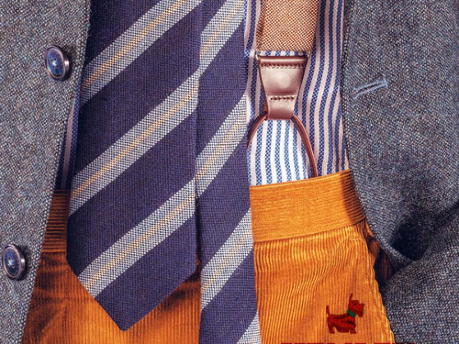 Krawatte, Hosenträger, Schal, Hemley