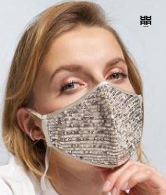 Maske mit Pailetten Geschenk